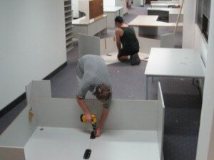 montaje oficinas Segovia
