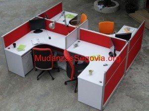 mudanzas de oficinas en Segovia