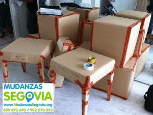 Empresa de mudanzas en Segovia