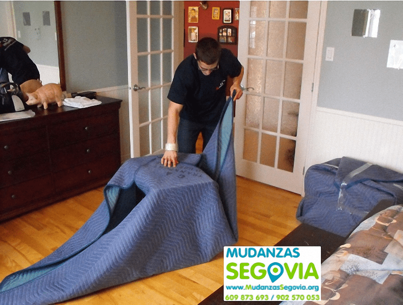 Mudanzas Aldeasoña Segovia