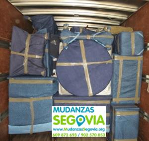 Mudanzas Almería Segovia