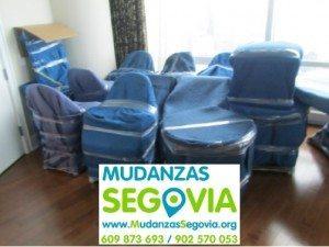 Mudanzas Badajoz Segovia