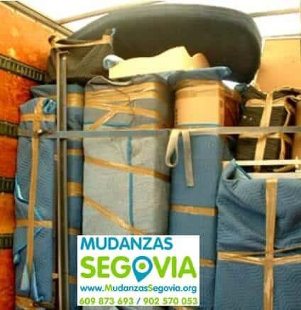 Mudanzas Cabañas de Polendos Segovia