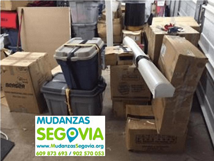 Mudanzas Calabazas de Fuentidueña Segovia