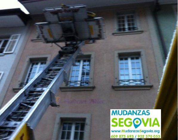 Mudanzas Cedillo de la Torre Segovia