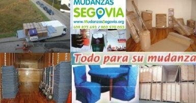 Mudanzas Cozuelos de Fuentidueña Segovia