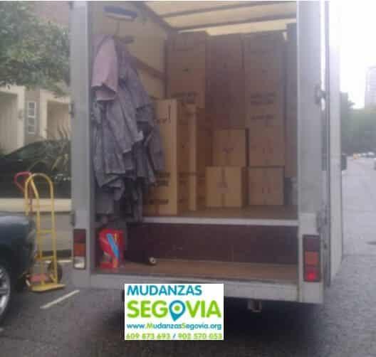 Mudanzas Fuenterrebollo Segovia