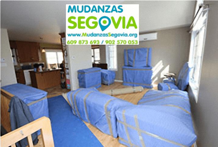 Mudanzas Fuentidueña Segovia