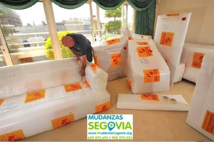 Mudanzas Hontanares de Eresma Segovia