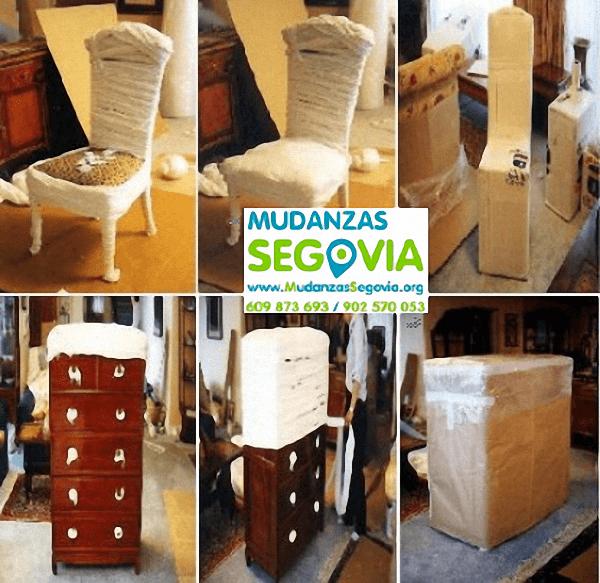 Mudanzas Navas de Riofrío Segovia