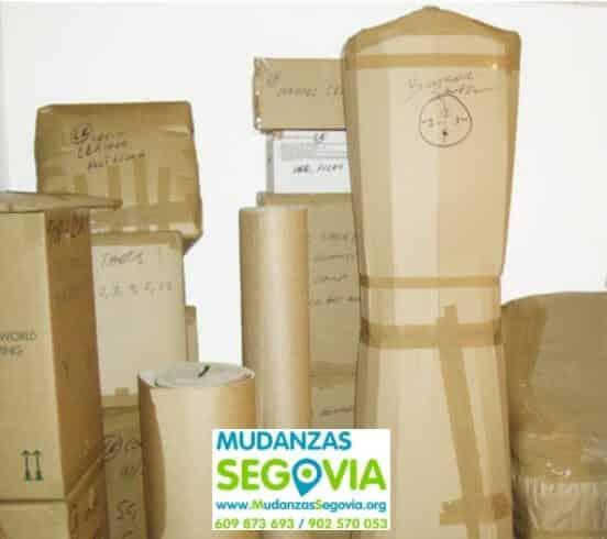 Mudanzas Santiuste de Pedraza Segovia
