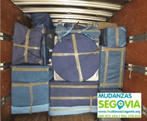 Mudanzas a Guardias Civiles en Segovia
