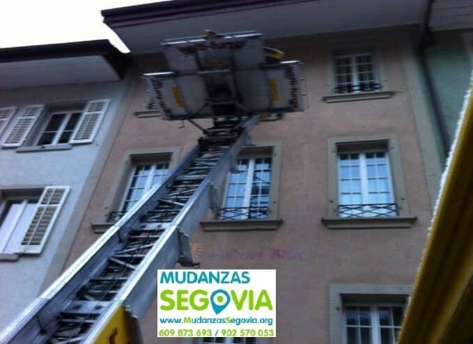 Mudanzas chalets Segovia