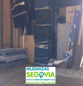 Mudanzas de Girona a Segovia