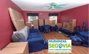 Mudanzas de Materiales Frágiles en Segovia