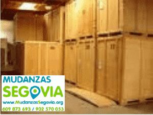 Mudanzas de Muebles a Tiendas en Segovia
