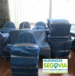 Mudanzas de Segovia a Huelva