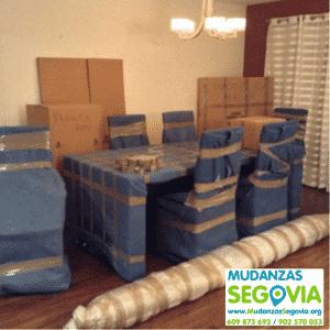 Mudanzas de Segovia a Ibiza