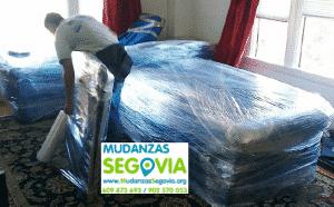 Mudanzas de Segovia a Menorca