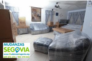 Mudanzas de Segovia a Pontevedra