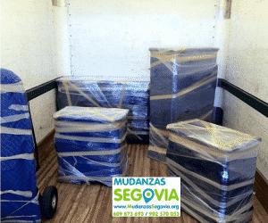 Mudanzas de Segovia a Tarragona