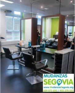 Mudanzas de despachos en Segovia