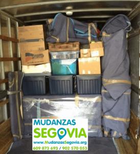 Mudanzas desde Málaga a Segovia