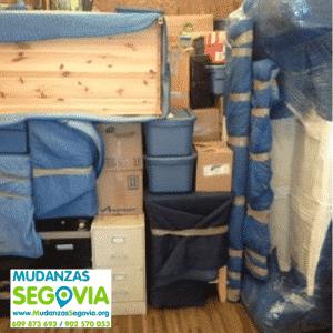 Mudanzas desde Segovia a Madrid