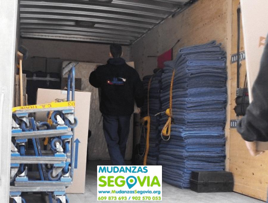 Mudanzas y transportes en Segovia Castilla y León