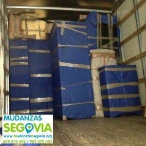Presupuesto mudanzas Segovia