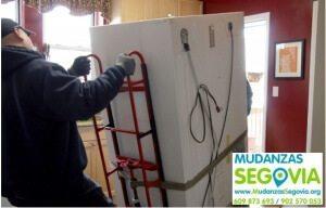 Transporte de electrodomésticos en Segovia