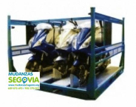 Transporte de motos en Segovia