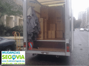 Transportes a Segovia