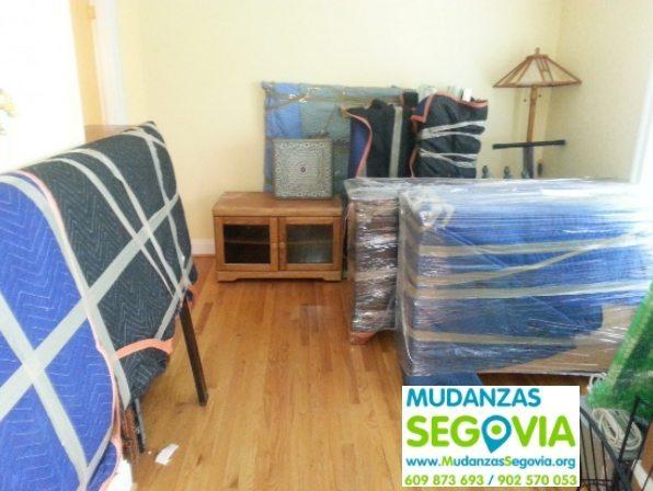 Transportes en Segovia Mudanzas