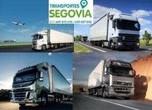Alquiler camiones Segovia