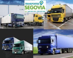 Empresas transportes Segovia